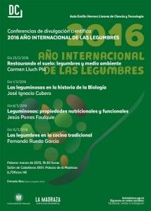 Ciclo de conferencias LEGUMBRES Universidad de Granada