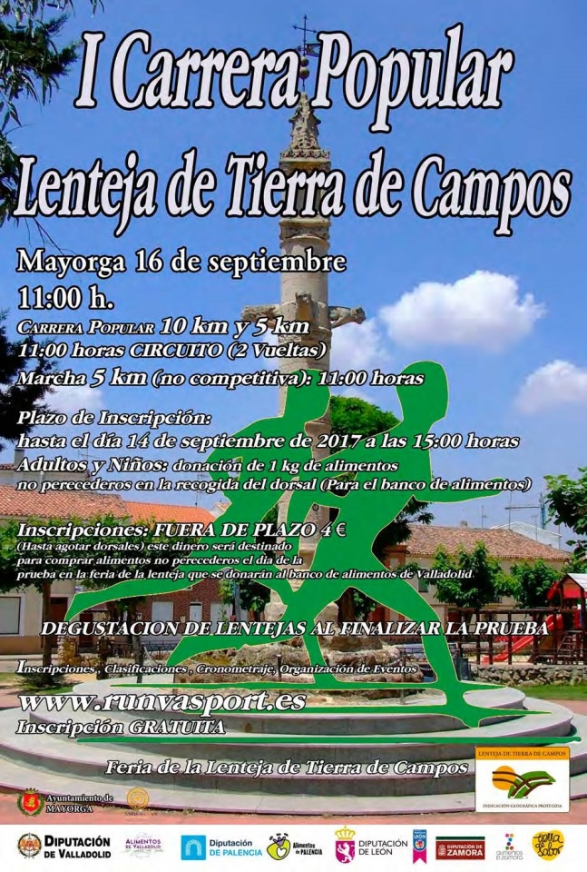 I Carrera Popular Lenteja de Tierra de Campos