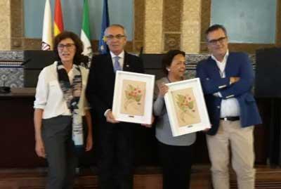 Celia de la Cuadra y Antonio De Ron Socios de Honor de la AEL