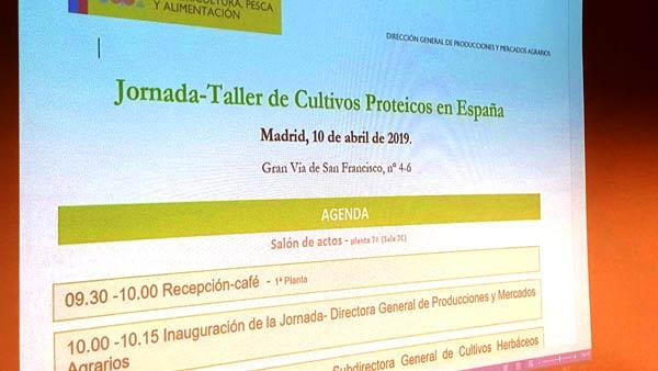 Jornada-Taller de cultivos proteicos en España